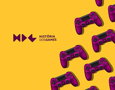 História dos Games || Identidade Visual