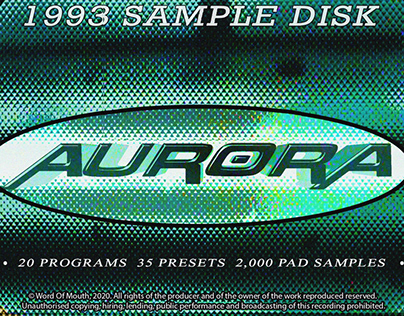 Aurora 1993 Sampler CD