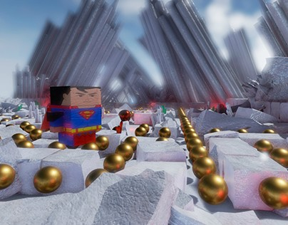 Super (Pac) Man in Unreal Engine 4