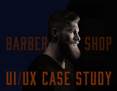 Moonshine Barber Shop UI/UX Case Study