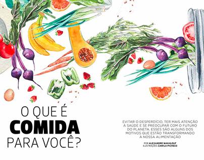 Revista Leve - O que é Comida para você