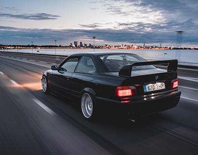 Rolling Shots BMW E36