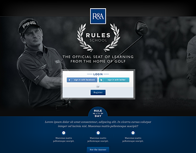 The Royal and Ancient Golf Club Rules School Website