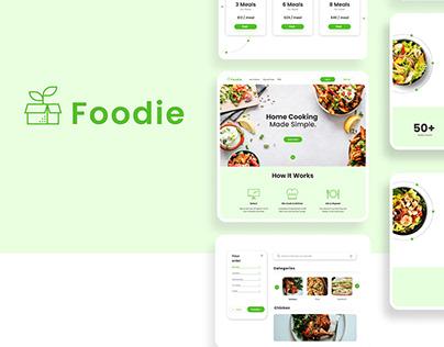 Kit Meal Website   UX UI Case Study