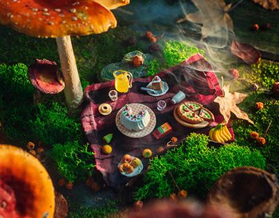 Mushroom Neigborhood