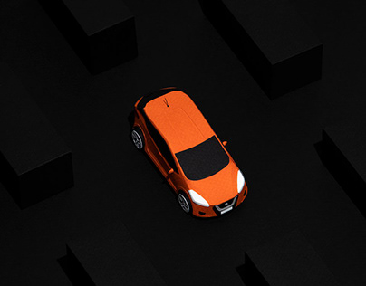 Paper Art stop motion animation for Nissan Micra