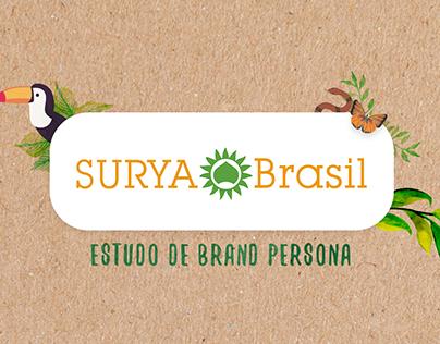 Estudo de Brand Persona | Surya Brasil