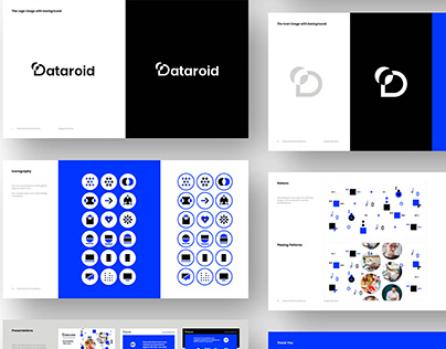 Dataroid Brand Design Projects