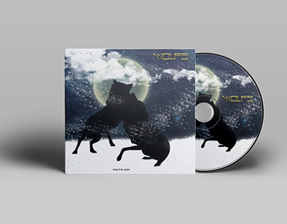 """Cd Cover """"Wolfs"""""""