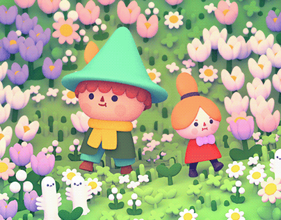 A walk in Moominvalley