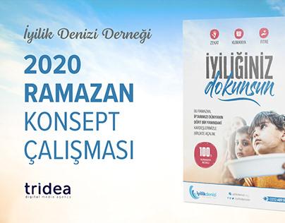 İyilik Denizi Derneği - Ramazan 2020 Konsept