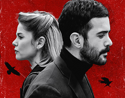 Kuzgun - TV Series | Poster Design