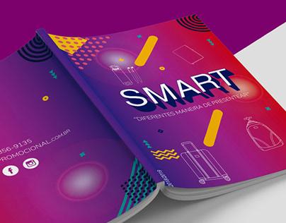 Capa Catálogo - Smart Promocional em 2018