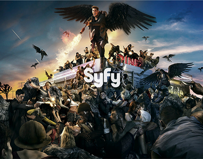 SYFY: DOMINION SEASON 2 - KEYART & DIGITAL