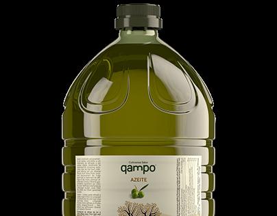 Qampo Pack shots - 3D Visualization