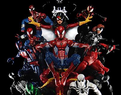 Marvel Comics' Spider-Verse Cover Remake