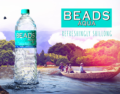 Beads Mineral Water Ads