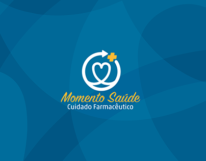 Logo/Branding - Momento Saúde - Cuidado Farmacêutico