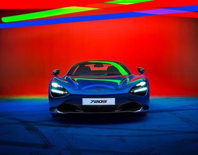 McLaren 720s Spider Trichromatic