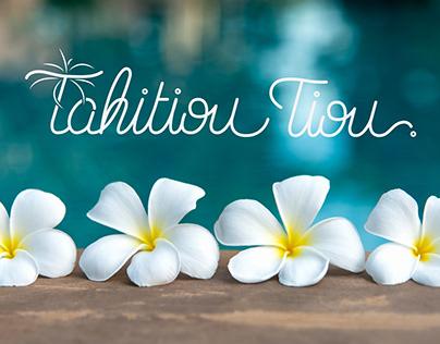 Logotype // Tahitiou Tiou