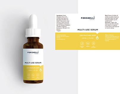 Forshelli - Label Design