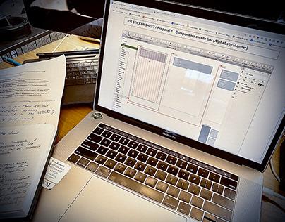 INTUIT Design Systems - Sticker sheet