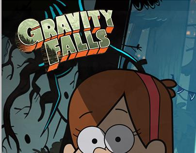 Gravity Falls - Vector illustration