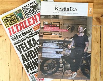 Vans photoshoot for national Finnish magazine
