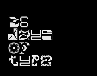 36 days of kinetic type // 2021