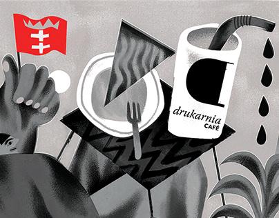cafe ✦ illustration