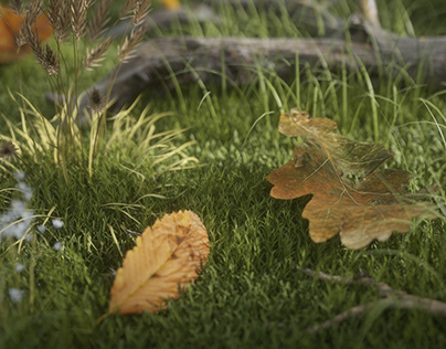 Leaves Shaders Experiment | Full CGI