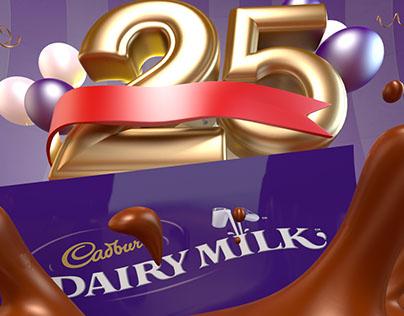 Cadbury 25 years