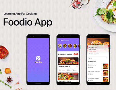 Foodio App