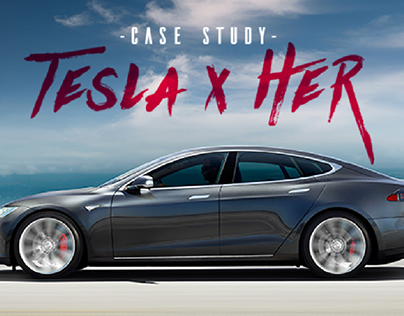 Tesla x Her - Dashboard Redesign Concept