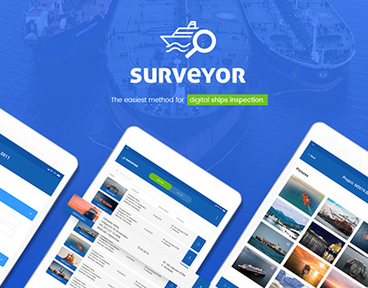 Surveyor - UI UX case study