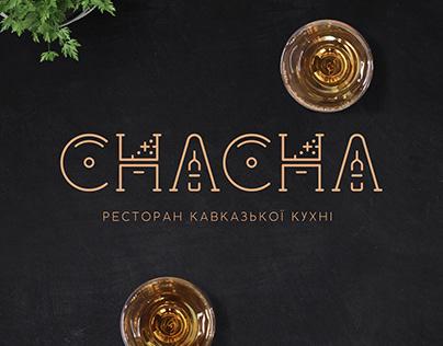 CHACHA restaurant branding