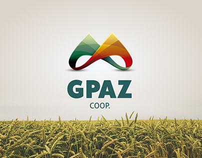 G PAZ branding design