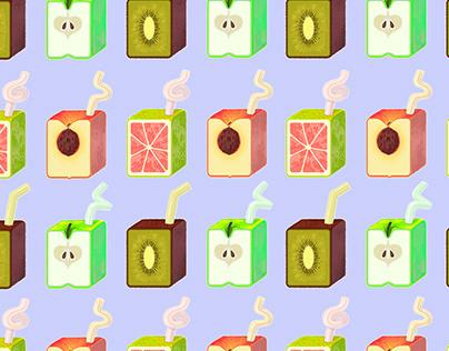 Fruit Juice Pattern