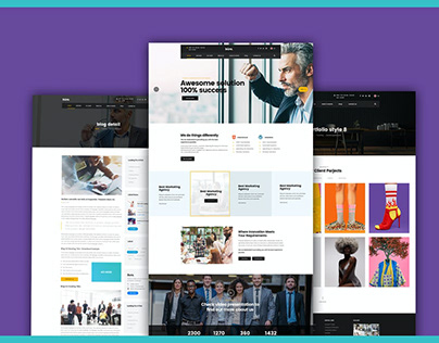 Build your Own Website Business Agency Template