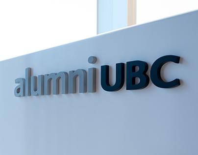 UBC Alumni Centre: Graphics + Wayfinding