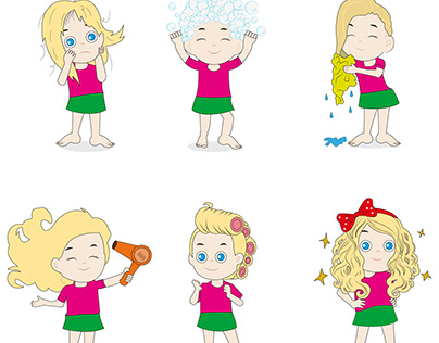 How to wash your hair - step by step