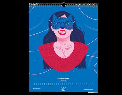 Calendario 2020 Machodominante