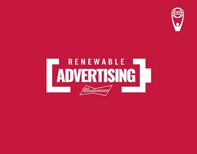 Renewable Advertising / Budweiser / Clio Awards