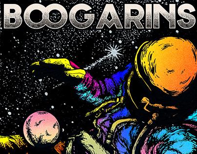 Magnólia Festival - Boogarins Poster
