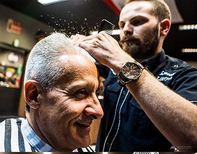Confraria Barbearia - Fotos para banco de imagens