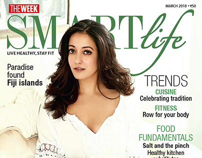 Raima Sen for The Week Smartlife Magazine