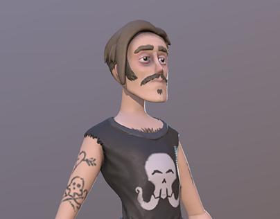 VR Character Sculpting 01