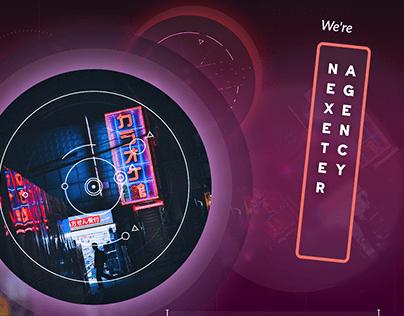 NEXETER - LANDING PAGE | WEB | UI | MOBILE