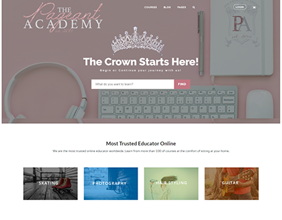 Education Learning Website by WPLMS