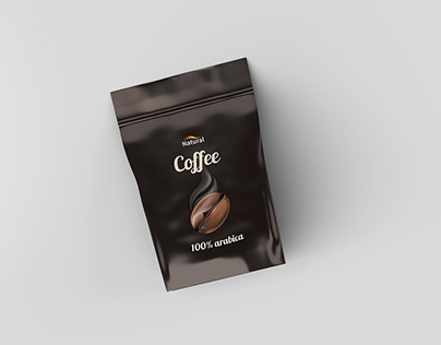 Free Pouch Coffee Mockup